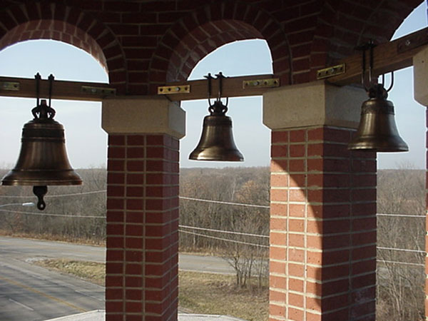Bells in final position