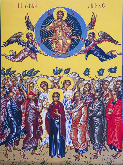 An icon of the Ascension.