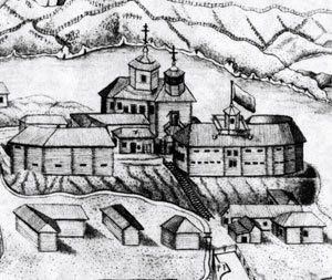 Drawing Of The Church.