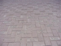 Example of Buy a Brick Walkway