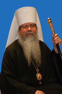 The Most Blessed Tikhon, Archbishop of Washington, Metropolitan of All America and Canada.